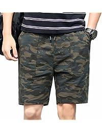 TieNew Camuflaje Cargo Shorts Bermudas Hombre Pantalones Cortos ea82b93e3c7f