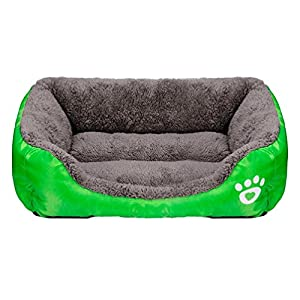 Panier Pour Chien, Tonsee Animaux de compagnie chien chat lit Chiot coussin maison Doux chaud chenil chien couverture Mat