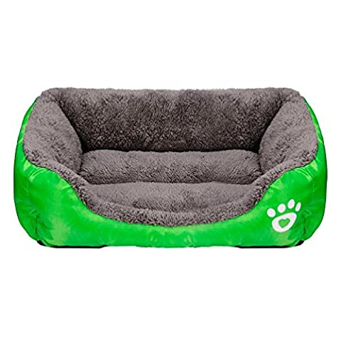 Pet Cozy House - Kingwo Dog Puppy Bed Cat Soft Warm House Comfortable Mat Blanket ,Completely Machine Washable (M,