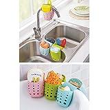 YJYDADA Schwammhalter für die Küche, Kunststoff, zufällige Farbe