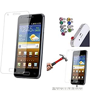 Qualitas Pack of 3 Tempered Glass for Micromax Canvas Turbo A250 + 3.5mm Jewel Dust Jack