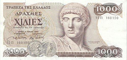griechenland-pick-nr-202a-gebraucht-iii-1987-1000-drachmaes-apollo-banknoten-fur-sammler