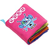 Baby Soft Cloth Book Intelligence Development Cloth Book Toys (Shapes)