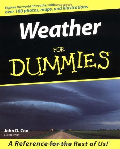 Weather For Dummies by Cox, John D. (2000) Paperback