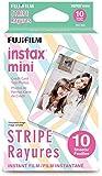 Fujifilm Instax Mini Stripe Film - 10 Exposures
