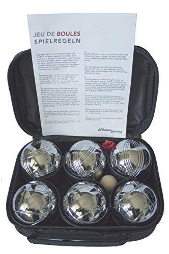6 boules de pétanque - pour les loisirs - dans...