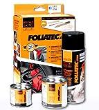 Foliatec 2160 Kit verniciatura pinze Freni rosso3 componenti, Rosso
