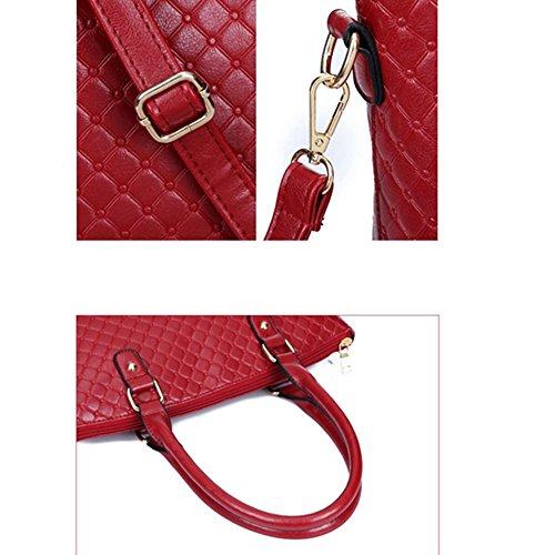Eysee, Poschette giorno donna Rosso rosso 37cm*29cm*16cm nero