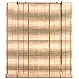 Ev Tapparella Atlanta Naturale in Bamboo c/carrucola 100x160 cm Porta Finestra Privacy Luce