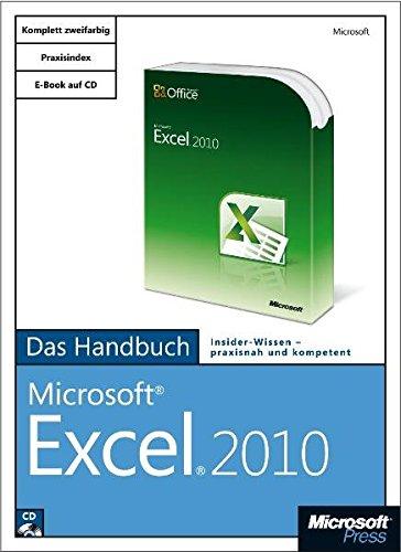 Microsoft Excel 2010 - Das Handbuch (Excel 2010 Handbuch)