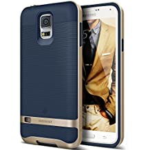 Galaxy S5 Case, Caseology [Wavelength Series] Textured Pattern Grip Cover Shock Proof for Samsung Galaxy S5 - Navy Blue