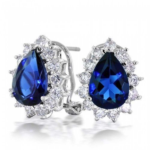 bling-jewelry-teardrop-225ct-color-zafiro-cz-arete-vuelta-de-omega