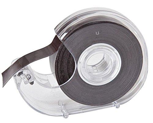 8m Magnetband Klebeband selbstklebend auf Abroller 19mm Magnetklebeband