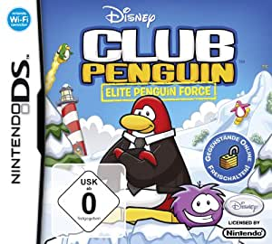 Club Penguin - Elite Penguin Force (Disney) - [Nintendo DS]