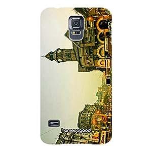 HomeSoGood Crawford Market Mumbai Multicolor 3D Mobile Case for Samsung S5 (Back Cover)