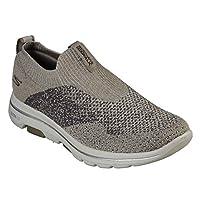 SKECHERS GO WALK 5 Mens Shoes, Brown (Khaki), 9.5 UK (44 EU)