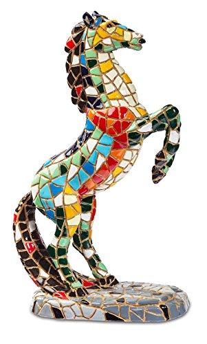 Katerina Prestige Figurine–Mosaic Cheval Cabre, na0849