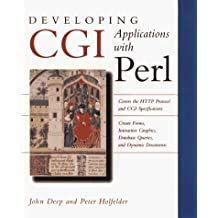 Developing CGI Applications with Perl by John Deep (1996-03-21)
