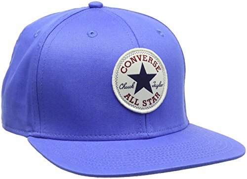 Converse Chuck Patch Snap Back, Cappellopello Bambino, Blu (Oxygen Blue), Taglia Unica (Taglia Produttore: One Size)