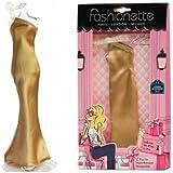 "Fashionette - Look ""Charlize"" - Long Dress for 11.5 inch mannequin dolls (28-30cm) : Barbie, Liv, Disney Dolls, etc..."