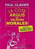 Image de La cote argus des valeurs morales
