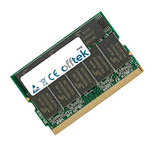 OFFTEK 512MB Ersatz Arbeitsspeicher RAM Memory für Sony Vaio VGN-T150 (PC2700 - Non-ECC) Laptop-Speicher Vaio Laptop Ram
