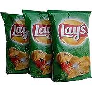 Lay's Sabor Campesina - Potato Chips Tomatoes & Garlic Flavor 3 pcs