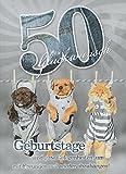 Geburtstagskarte XXL zum 50. Geburtstag