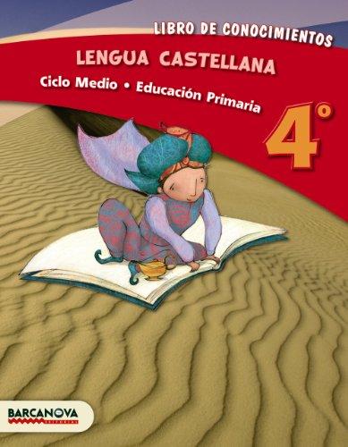 Lengua castellana 4º CM. Libro de conocimientos (ed. 2013) (Materials Educatius - Cicle Mitjà - Llengua Castellana) - 9788448931766