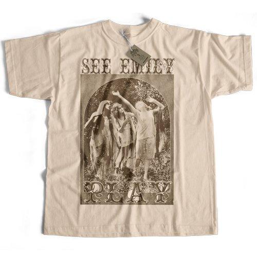 Old Skool Hooligans See Emily Play T Shirt Psychedelic Original Rock Inspired Shirt