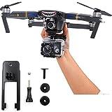 Flycoo Action Camera Mount Fissaggio della base della staffa per fotocamera a 360 ° per DJI Mavic Pro / Platinum Drone Accessory Kit