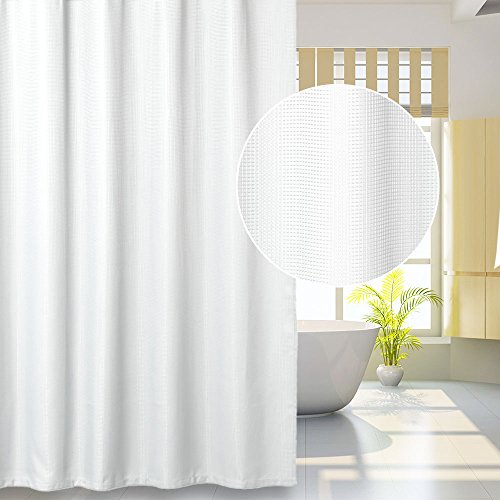 Lintimes Cortina baño Resistente Agua antibacteriana