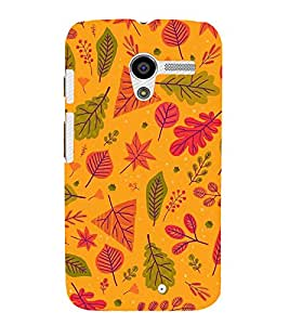 EPICCASE leafs Mobile Back Case Cover For Moto X (Designer Case)