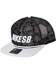 Nike U Pro SB Casquette de tennis, Homme, Noir (Black/White/Black/White), unique