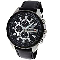 Casio Edifice Analog Black Dial Men's Watch - EFR-549L-1AVUDF (EX256)