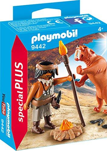 Playmobil- Neandertal Tigre Dientes Sable