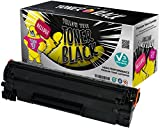 Yellow Yeti CB435A 35A (1,500 Pages) Compatible Toner Cartridge for use with HP LaserJet P1005 P1006 P1007 P1008 P1009 [100% Money Back Guarantee and 3 Years Warranty]