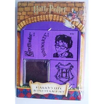 """Harry Potter """"Harry's Life Mini Set de tampons avec tampon encreur"""