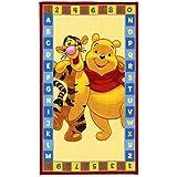 Niños–Alfombra infantil con Winnie the Pooh/ABC/–Alfombra infantil//Niños parte–Alfombra infantil//pared–Alfombra infantil/Modelo Disney Winnie The Pooh oso/Este precioso y alfombra para niños con Winnie es en el tamaño 140x 80cm o 170x 100cm Disponible/Este Alfombra infantil (con la Kids en NU. En Varios Colores será para Llamativa en cualquier habitación de los Niños. sooo dulce/ES por fin en el dormitorio eingezogen, no se las Pequeñas se a este divertido diseño satt permite ver. Alfombra niños, varios colores multicolor, muestra una armoniosa Ordenador en cualquier habitación y bereichert es por un moderno y algodón con colores vivos. Al mismo tiempo motivieren Que también zum Träumen, para aprender y Sind So divertido, que tu hijo su claro Alegría Daran tendrá y no se puede ver Diseño. La Moderno Designs passen dabei Ideal en la habitación de los Niños de hoy y begeistern mediante la increíble Profundidad de color, multicolor, 170 x 100 cm