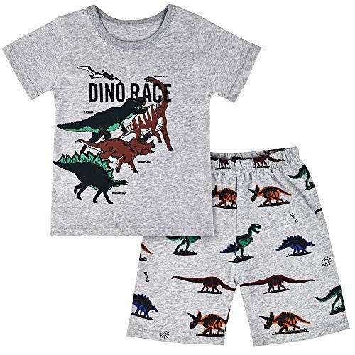 Winzero - Pijama Dos Piezas - niño Gray3 5-6 Años