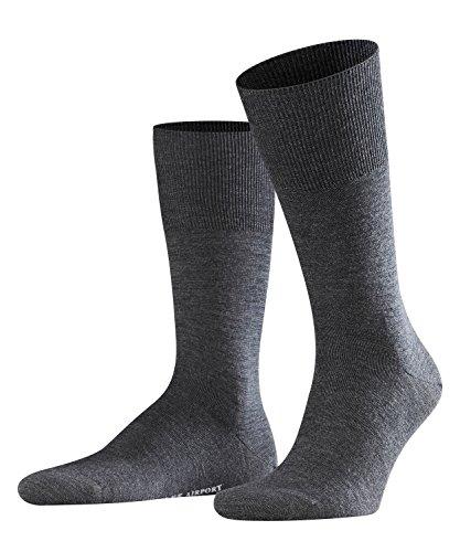 FALKE Herren Airport Socken - 1 Paar - 60% Schurwolle - Größe 39-50 - versch. Farben - Anzugsocken - Männersocken - Muster-knie-hohe Socken