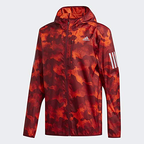 adidas Performance Own The Run Laufjacke Herren orange/rot, L