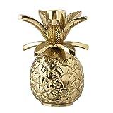 Bloomingville - Kerzenhalter/Kerzenständer - Palme - Aluminium - Farbe: Gold - Ø9,5xH13,5 cm