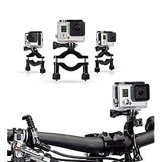 Navitech Fahrrad-Action-Kamera-Roll-Bar für Accfly 4K Sport Action Camera 12MP WiFi UHD Cam