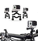Navitech Fahrrad-Action-Kamera-Roll-Bar für BOROFONE Action Camera Waterproof 4K Wi-Fi 1080P 12MP