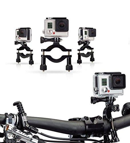 Navitech Fahrrad-Action-Kamera-Roll-Bar für Veho VCC-006-K1 - Muvi K-Series K-1 | VCC-006-K2NPNG- Muvi K-Series K-2 NPNG | VCC-006-K2S - Muvi K-Series K-2 - Muvi-kamera