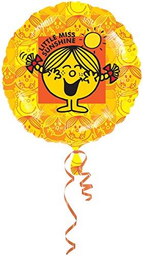 Amscan Mr. Men and Little Miss Sunshine Standard HX Foil Balloons (Little Miss Sunshine Kostüm)