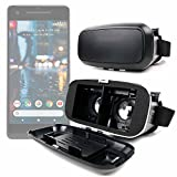 DURAGADGET Padded 3D Virtual Reality VR Headset Glasses for Google Pixel | Pixel