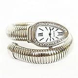 Watch Quarz-Uhr-Legierungs-Band Der Frauen Spezieller Luxus-Silber-Gold Rose,Silver