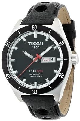 Tissot T-Sport PRS 516 - Reloj de caballero automático, color negro